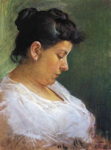 (14) Picasso's Mother